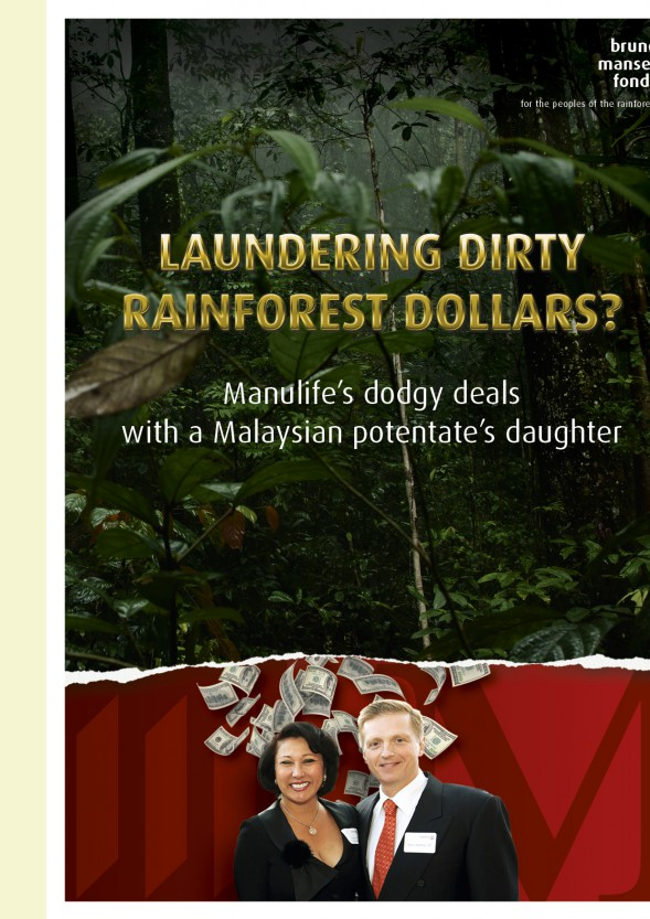 EXCLUSIVE: Manulife Financial under fire over dodgy loans to Malaysian potentate's family